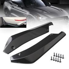 Universal Auto links rechts Rear Stoßstange Lippe Splitter Spoiler Flap Diffusor