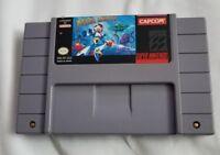 Mega Man X Super Nintendo Entertainment System SNES GAME AUTHENTIC