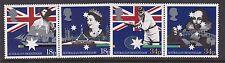 GB GREAT BRITAIN 1988 AUSTRALIAN BICENTENNIAL SET NEVER HINGED MINT