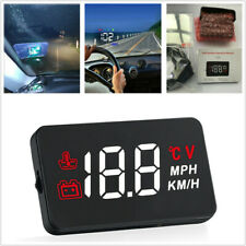 "3.5"" A100 Car HUD Head Up Display OBD2 II Consumption RPM Speed  System Kit 12V"