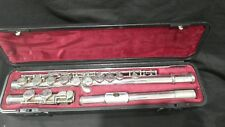 Yamaha Flute 311II, with silver head in hard case, one owner. (R164)