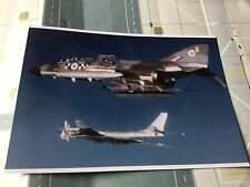 RAF Phantom Fighter with Russian Bear Bomber - 6 x 4 Print