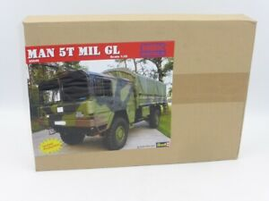 MBK Models 35049 Man 5T MIL GL Plastic Kit 1:35 Scale In Cooperation with Revell