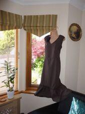 Stunning French  100 % cotton Dress  from Gina B , new , size UK 18,  EU44