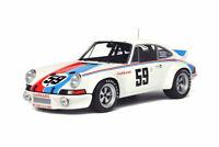 GT Spirit GT728 1:18 PORSCHE 911 (911) CARRERA RSR WINNER DAYTONE 1973 WHITE LIM