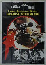 MANIFESTO, C.I.A. SEZIONE STERMINIO Permission to Kill BOGARDE,FEHMIU SPY POSTER