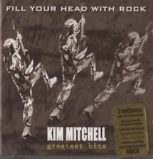 Kim Mitchell - Greatest Hits ( Fill Your Head with Rock ) ( CD + DVD 2007 ) NEW