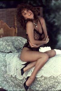 MERCEDES OLDENBURG Vintage 35mm Larry Caye LATENT IMAGE PINUP SLIDE BG