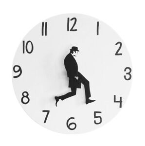 Comedian Home Decor British Comedy Silent Ministry Of Silly Walk Wall Clock Gift