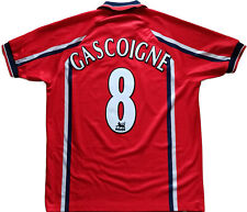 maglia Gascoigne England Umbro World Cup France 1998 jersey player issue *NEW* L