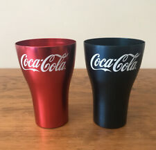McDonalds 2020 Aluminium Coca Cola Coke Cup - Red Blue Cups