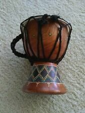 Small Carved Ethnic Finger Drum