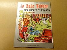 STRIP / DE RODE RIDDER 49: MET MASKER EN ZWAARD   Herdruk 1994