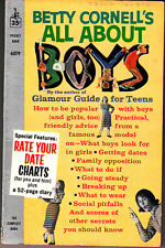 Betty Cornell All About Boys Pocket Book 6019 1960 Vintage Rate Your Date Charts
