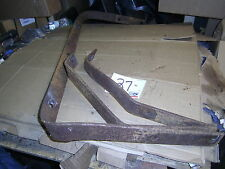 1958 FORD SKYLINER FAIRLANE RANCHERO FRONT BUMPER MOUNT BRACKET SET OEM GALAXIE