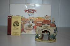 David Winter Cottages David'S Gate D1127 Welcome Arch Box Coa Limited to 400