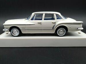 TRAX TR35B Valiant Chrysler R Series White 1:43 Scale Diecast Model Mint in Case