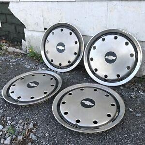 "Factory 16"" Wheel Covers Chevy G30 1 Ton Van Chevrolet Beauville SportVan"