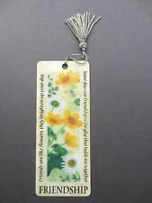 BOOKMARK FRIENDSHIP Message Birthday Christmas Thankyou Gift Holographic 3D