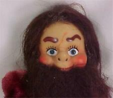 Viking Man Doll Jestia of Japan Toy Plastic 7in. Vintage