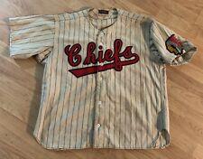 Vintage 50's Syracuse Chiefs Minor League Baseball Jersey Game Worn 1951-1954