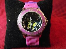 Woman's Quartz Watch with Butterfly Lot K 266