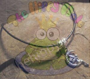Fairy Moon protective amulet tibetan style charm hippy goth choker