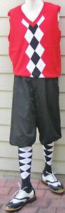 New Men Golf Knickers Black Microfiber Golf Knicker Outfit-VRWB -Vest & Socks