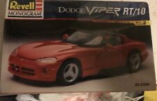 REVELL MONOGRAM 1:25 Scale Model. Dodge VIPER RT/10
