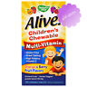Nature's Way Alive! Children's Chewable Multi-Vitamin Orange 120 Chews