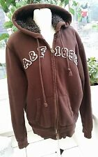 Abercrombie & Fitch Sherpa Lined Utility jacket - S - Brown - Furry Lined Heavy