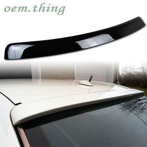 PAINTED Fit FOR Mercedes BENZ E-Class W210 L Type Roof Spoiler 1995-2001 E430
