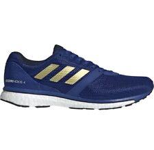 Adidas Adizero Adios 4 Running Shoes Sneakers Blue Gold EF1463 Men Sz 10.5 NIB