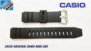 Viel 2 Casio Original Uhrarmband MQD-200 NOS