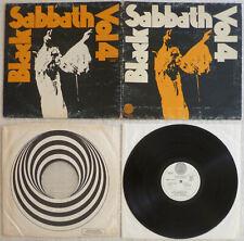Black Sabbath - Vol 4 (1972) LP (VG++) GRAIL RARE Vertigo Swirl UK 1st Press OIS