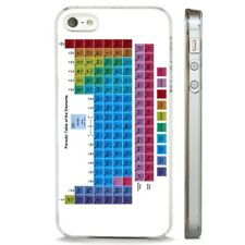 Periodic Table Of The Elements CLEAR PHONE CASE COVER fits iPHONE 5 6 7 8 X