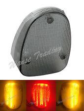 Tail Turn Signals Integrated Light Smoke Fit 1999-2003 YAMAHA Road Star XV1600