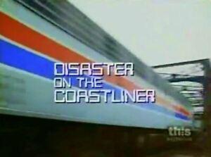 Disaster On The Coastliner - 1979 Lloyd Bridges (UK/Euro format dvd disc only)