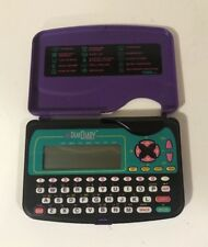 Vintage 1995 Tiger Electronic Game Dear Diary Deluxe Organizer Purple