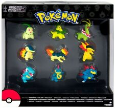 Pokemon Evolution Chikorita, Cyndaquil & Totodile Figure 9-Pack
