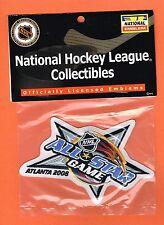 2008 Nhl All Star Game Hockey Atlanta Thrashers Authentic Patch
