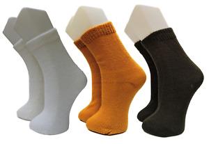 3 Pairs of Alpaca Wool Socks Peruvian Llama Winter Warm Handmade Artisan Gifts