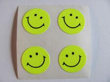 Vintage Sandylion Neon Yellow Smiley Face Sticker Mod