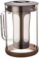 Primula PCBBK-5351 51 oz Black Pace Cold Brew Iced Coffee Maker NEW