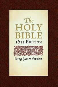 King James Version KJV 1611 Edition With Apocrypha / Hardcover BRAND NEW!!!