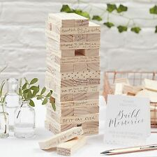Ginger Ray Build A Memory Block Alternative Wedding Guest Book