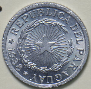 Paraguay 1938 Peso UNC 193327 combine shipping