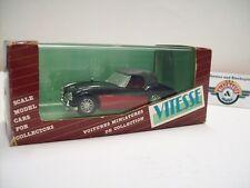 "Austin Healey 3000 ""Soft Top"", Schwarz/Rot, 1959, Vitesse 1:43, OVP"
