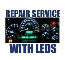 2003 TO 2006 GM CHEVROLET GMC INSTRUMENT CLUSTER REPAIR SERVICE WITH LED UPGRADE