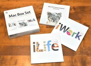 Apple Mac Box Set '09 (1 Benutzer), Snow Leopard 10.6, iLife '09 und iWork '09